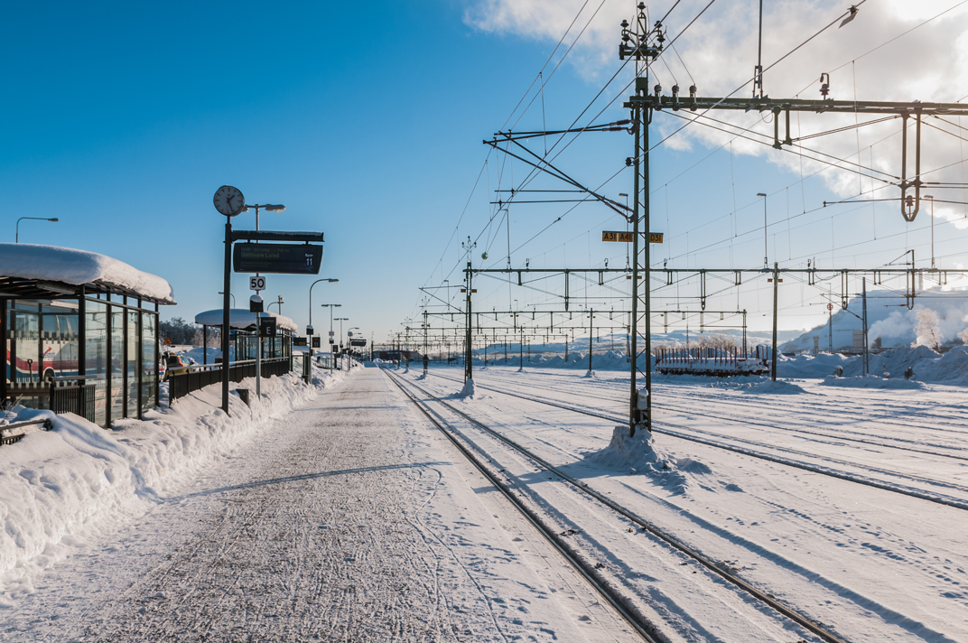 train station transfer kiruna